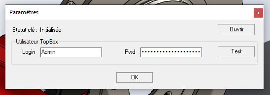Addin settings